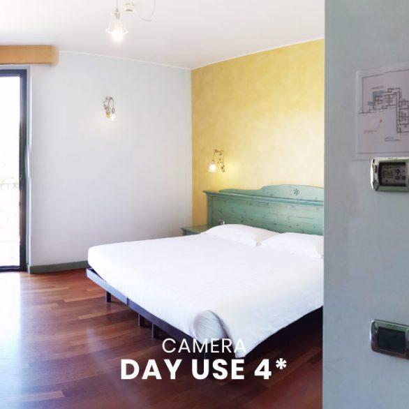 Camera ampia e spaziosa hotel 4 stelle varese