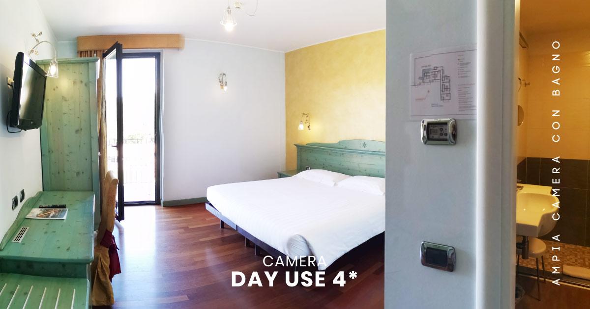 Camera ampia e spaziosa hotel 4 stelle varese Hotel Montelago