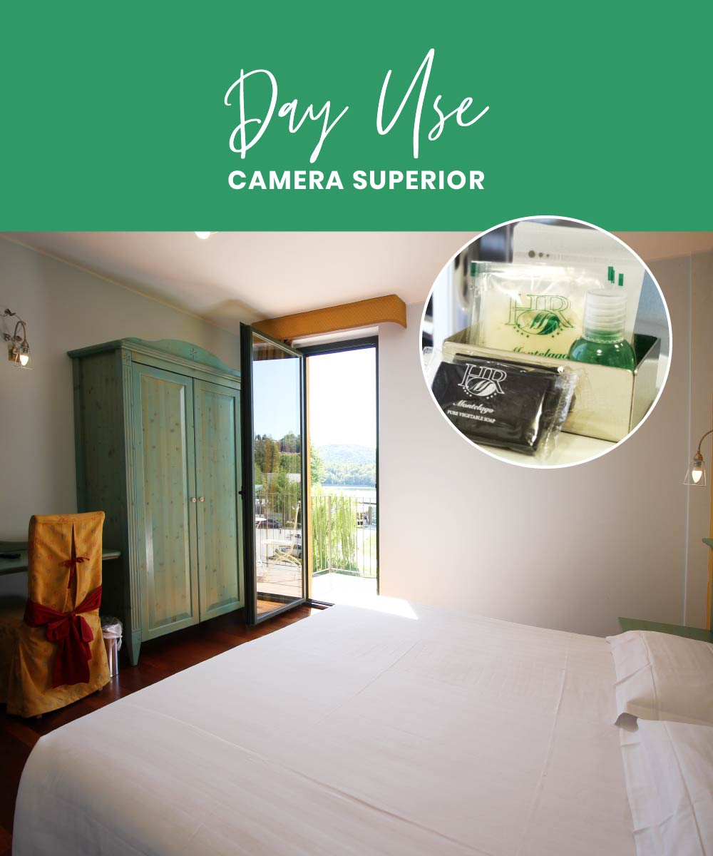 Camera a ore hotel 4 stelle varese